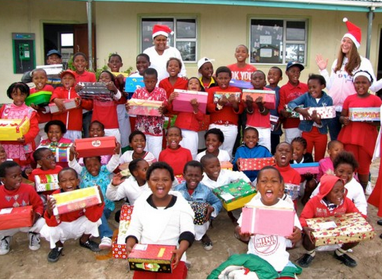 wonderful organisation that donates collects and distributes personalised christmas gifts to underprivileged children across south africa and namibia - Christmas In South Africa