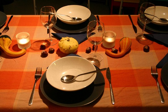 Setting extra table places for the dead. By tillwe (Flickr)