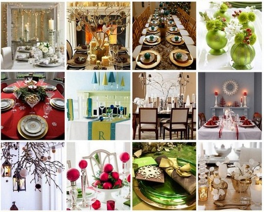 Wedding Table Gift Ideas South Africa : Festive Table Decorations for Your Christmas Feast - TravelGround Blog