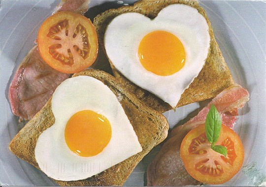 Egg on Toast by Mailbox Happiness
