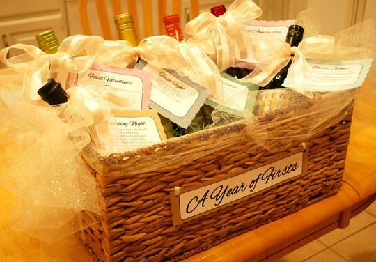 Wine Basket Wedding Gift: 3 Memorable Wedding Gift Ideas
