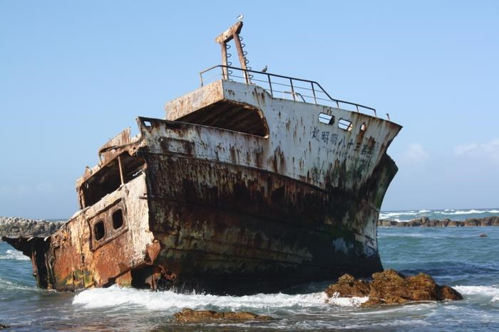 ship wreck (Cape Agulhas Guest House)