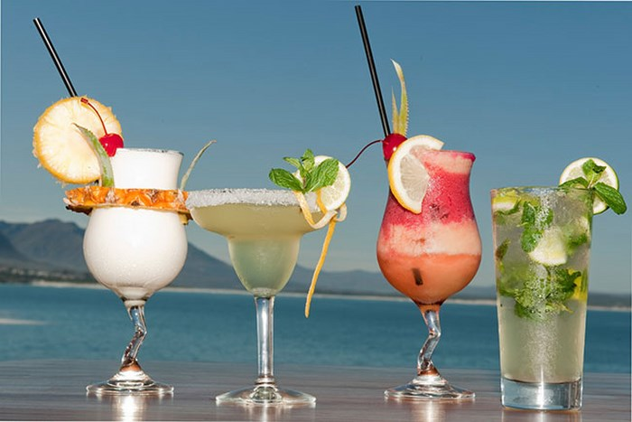Cocos drinks and view (C) Cocos Hermanus