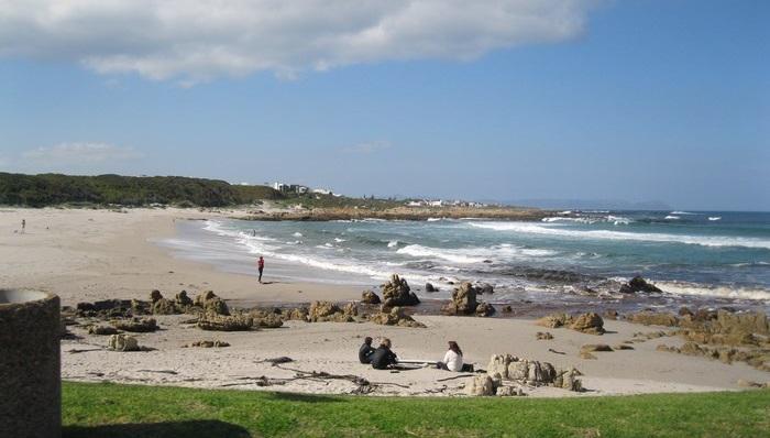 Hermanus  Beach image (C) Roseanna McBain