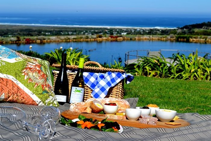 Picnic on the lawn (Photo: supplied by Cape Point Vineyards)
