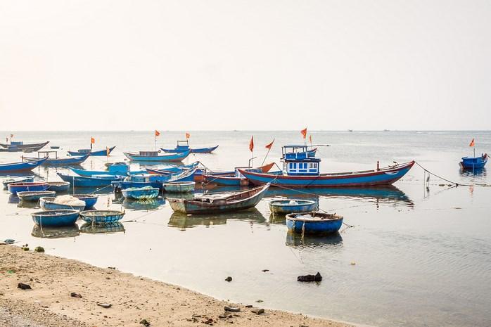 Ly son Island in Vietnam