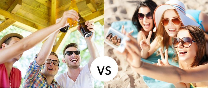 Guys vs Girls Weekends (TravelGround)