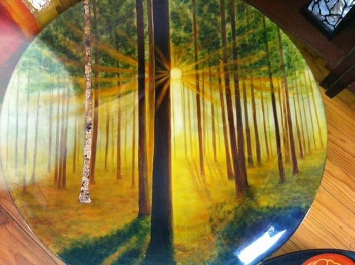 Artefunto fusion art plate (C) Artefunto