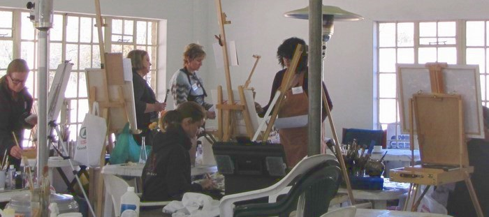 Arts and Crafts workshop1 in Clarens via Clarens News