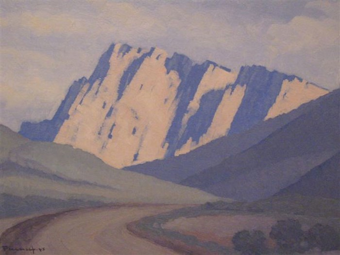 Near Golden Gate by J.H. Pierneef  (creative commons)