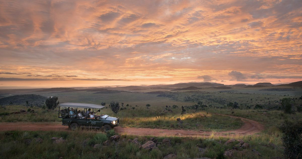 The majestic Waterberg Mountain Range | Photo: TravelGround.