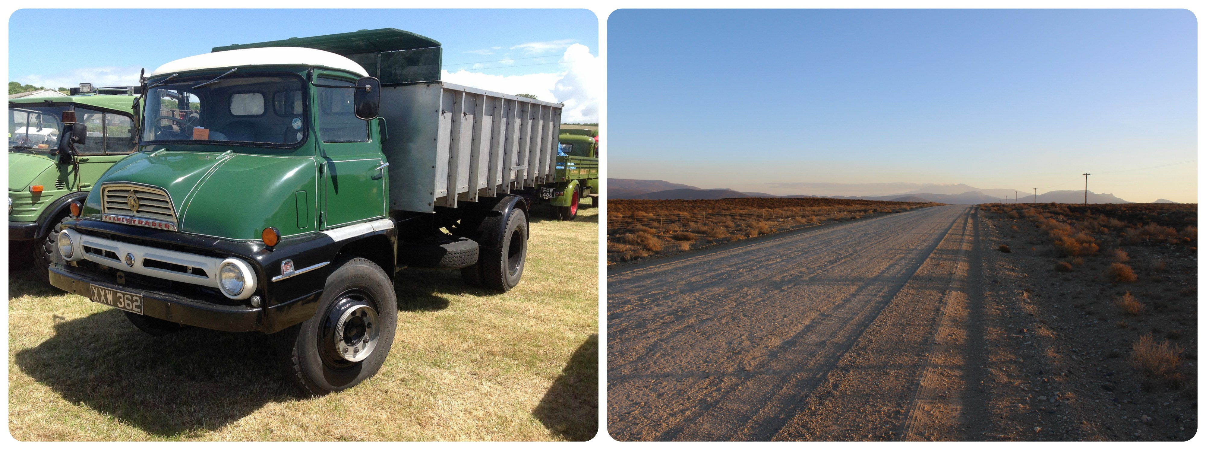 An example of a Ford Thames truck like the ghostly one which has been seen on the Karoo road near Sadawa.