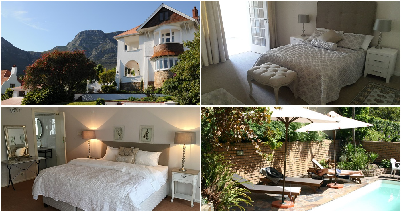 Abbey Manor Luxury Guesthouse (Links bo) | Mountain Bliss (Regs bo) |  Belle Rose (Links onder) | Atforest Guest House (Regs onder)