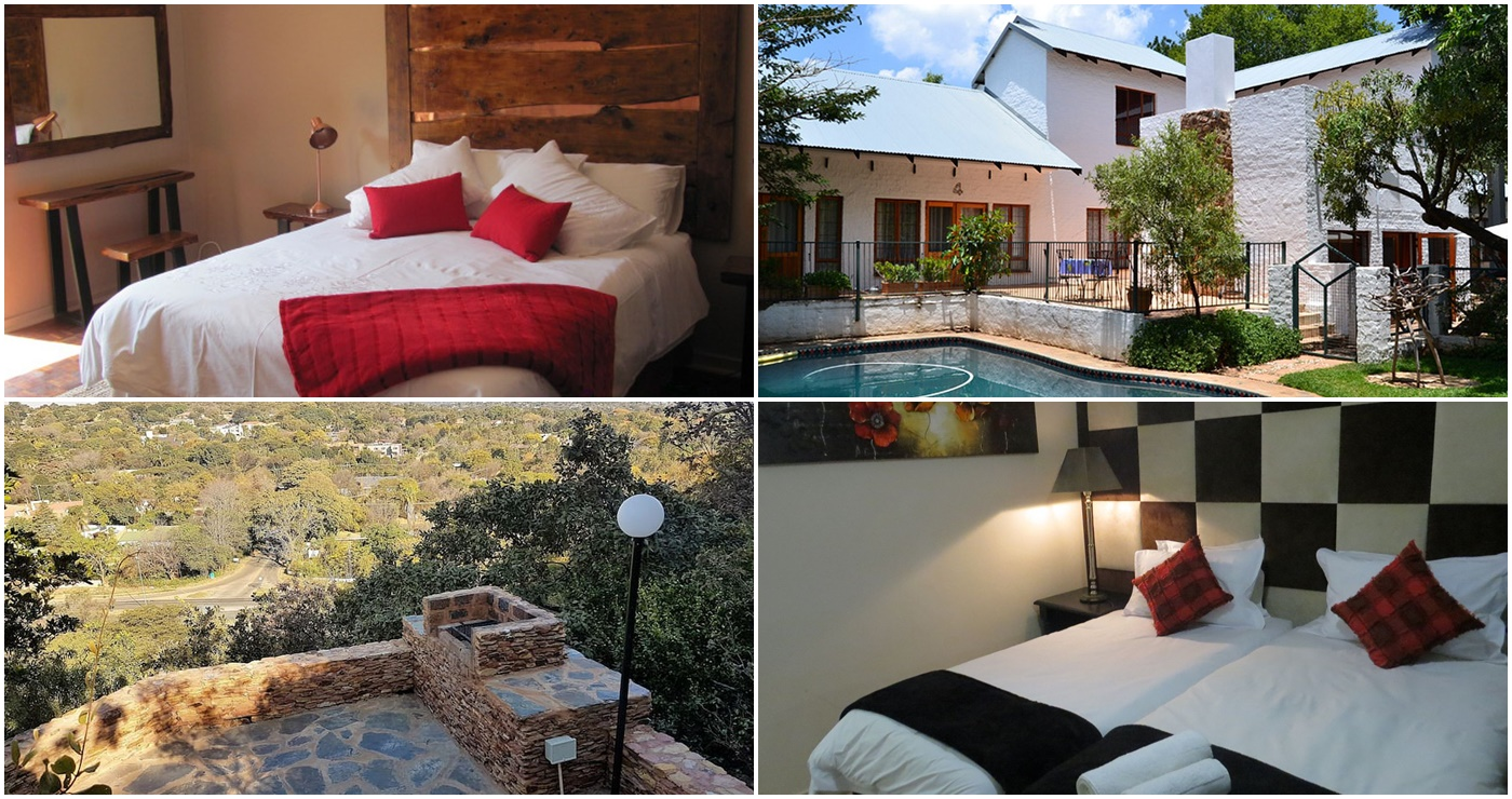 Casa De Grace (Links bo)|  The Bushbaby Inn (Regs bo) |  Wag 'n bietjie - Linger a While (Links onder) | Silverton Travel lodge (Regs onder)