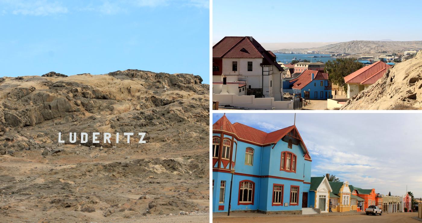 Historiese geboue in Lüderitz. Daniëlle Terblanche
