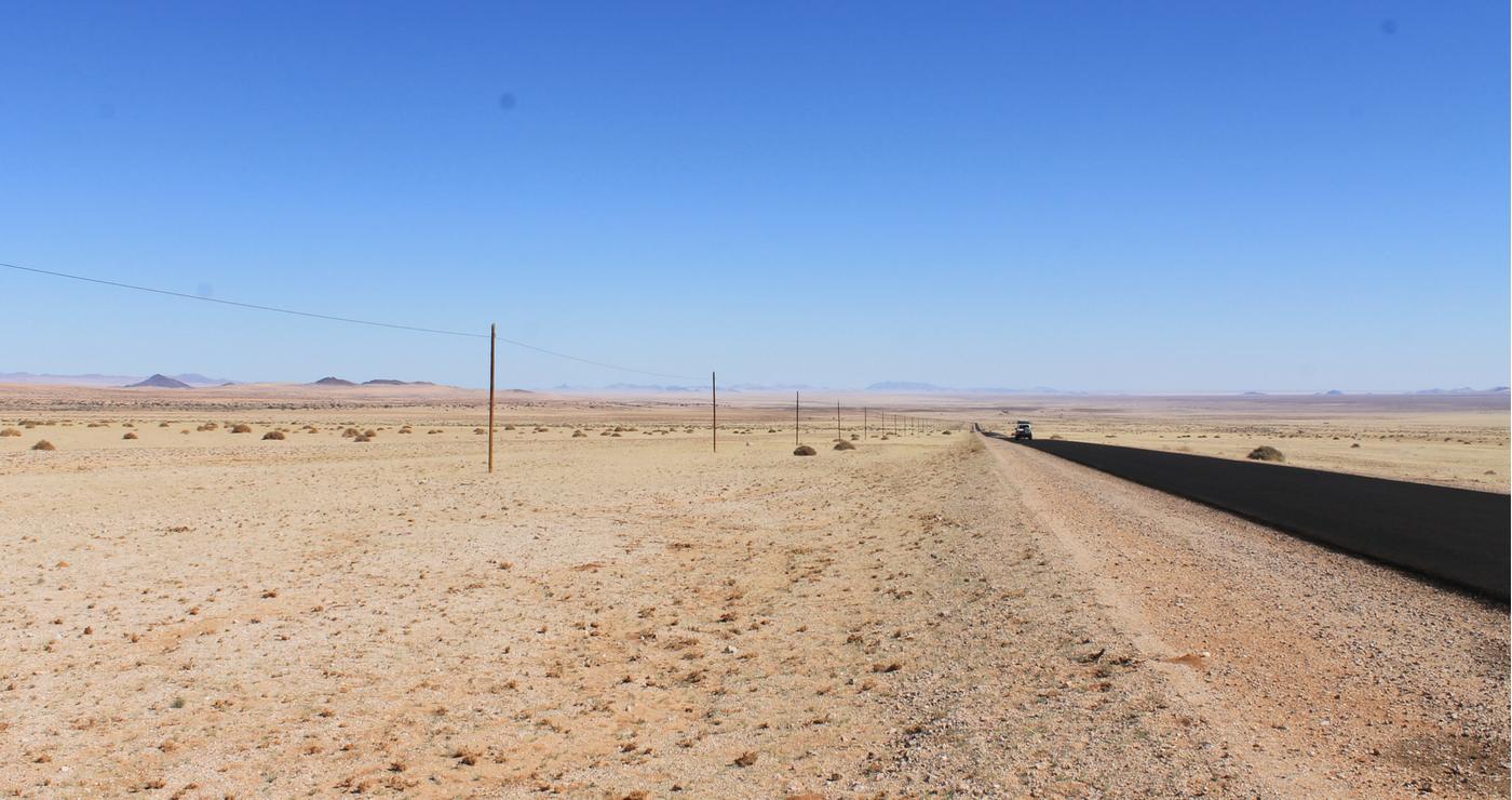 B4 op pad na Lüderitz. Daniëlle Terblanche