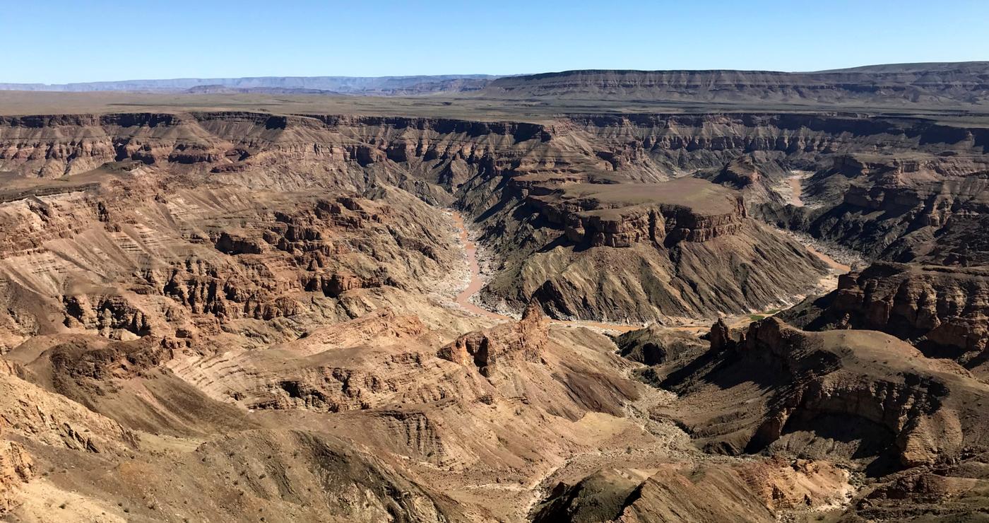 Visrivier-canyon. Daniëlle Terblanche
