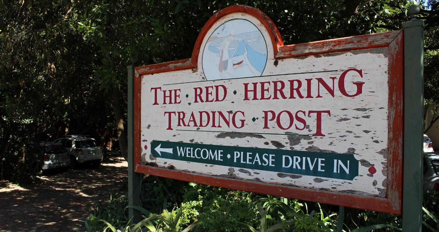 The Red Herring Trading Post   Beach Road, Noordhoek
