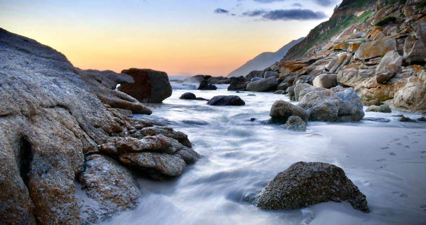 Noordhoek se strand, Long Beach   Haven Point