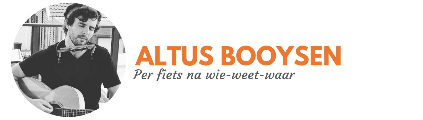 Altus Booysen: Per fiets na wie-weet-waar