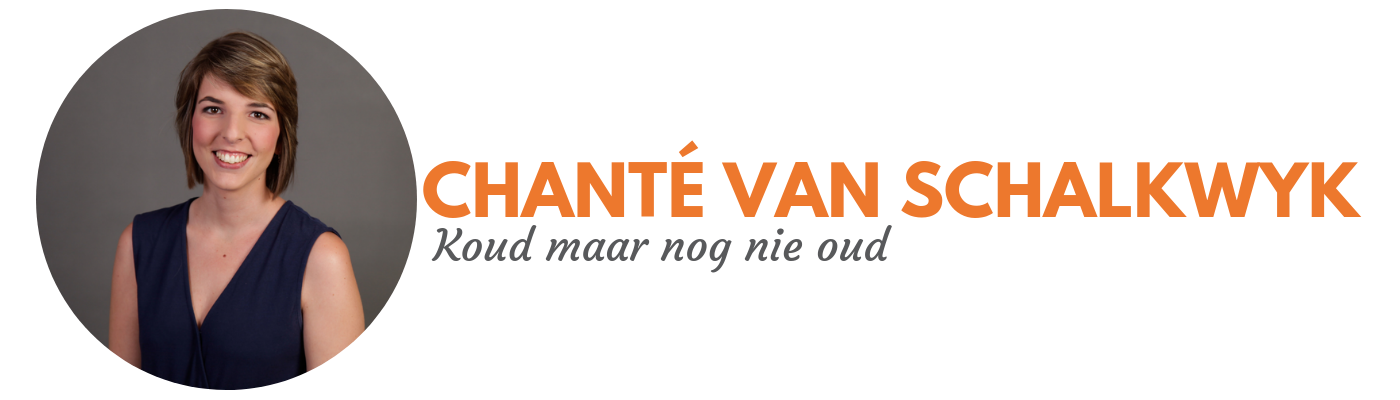 Chanté van Schalkwyk: Koud maar nog nie oud