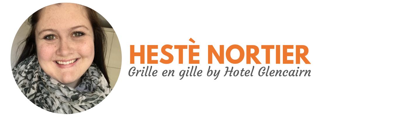 Hestè Nortier: Grille en gill by Hotel Glencairn