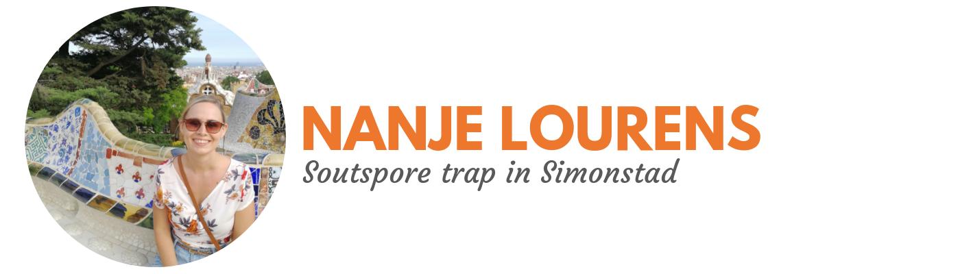 Nanje Lourens: Soutspore in Simonstad