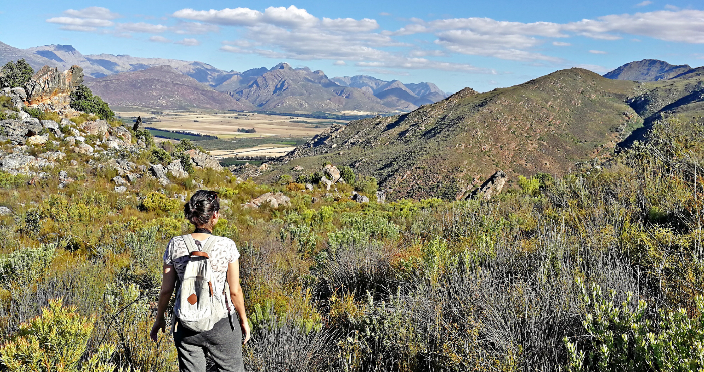 Hiking the Klein Olifants Route at Cederkloof.