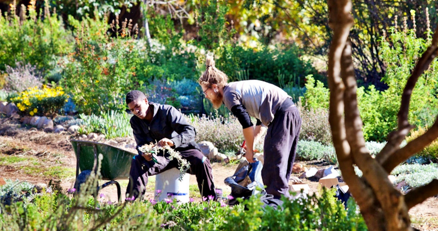Maintaining the gardens is a labour of love.   Photo: TravelGround