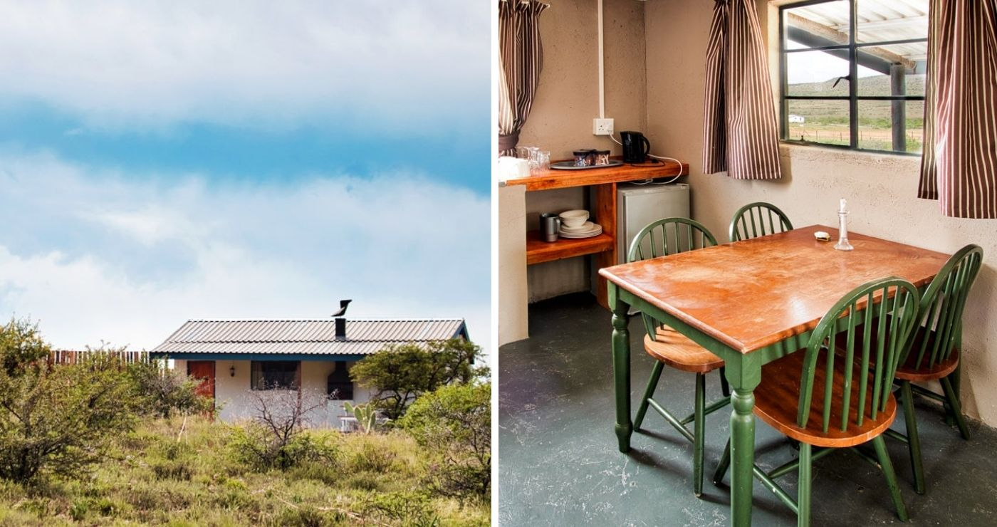 Quaint chalets at Buffelshoek Dirosie Lodge Cradock