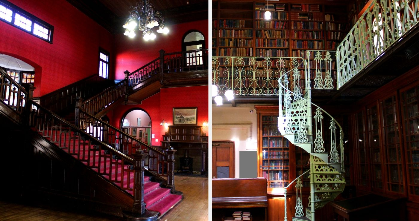 Left: The McGregor Museum | Right: The Africana Library (Adriëtte le Roux)