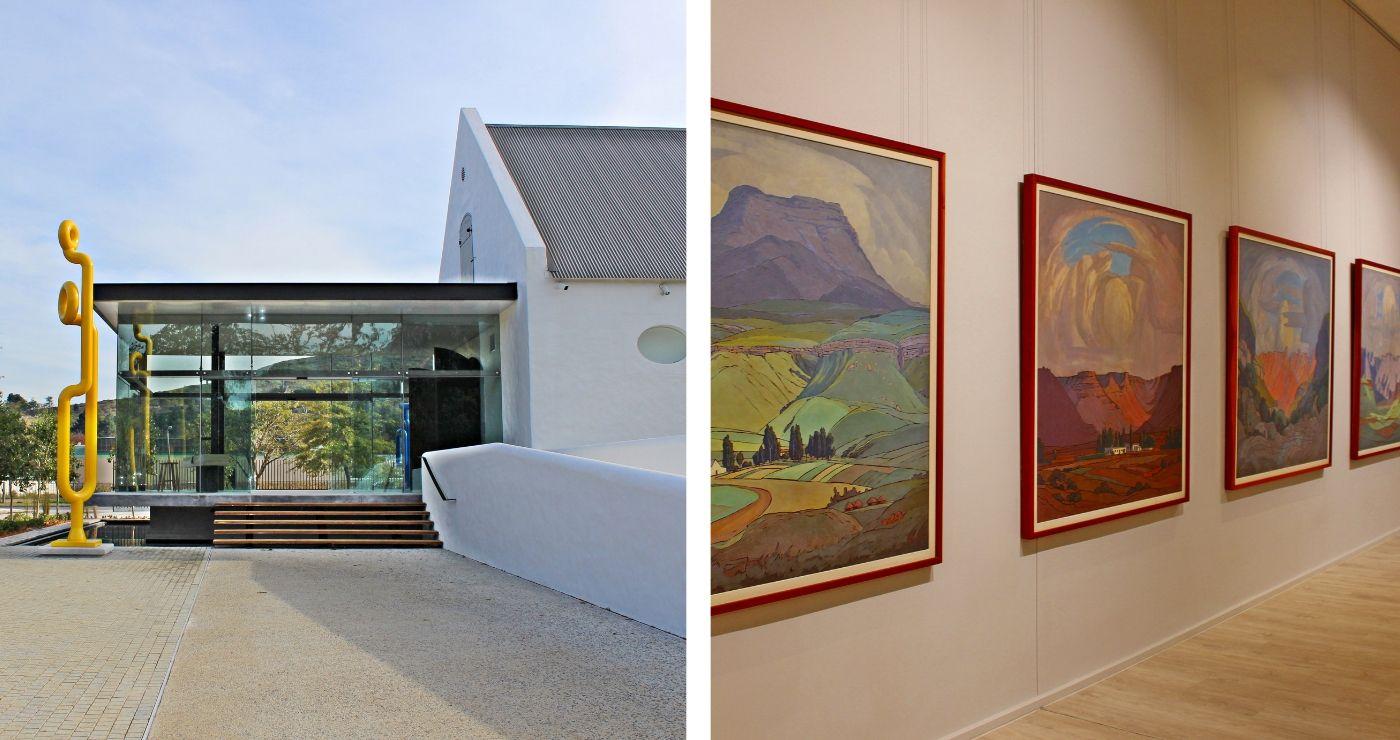 Rupertmuseum en die Pierneef-uitstalling (Adriëtte le Roux)