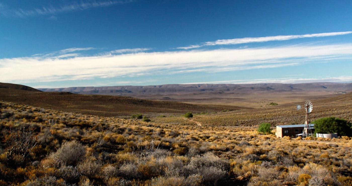 'n Karootoneel by Snyderskloof Karoo Cottage naby Matjiesfontein.