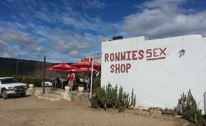 Ronnies Sex Shop by Lauren Morling