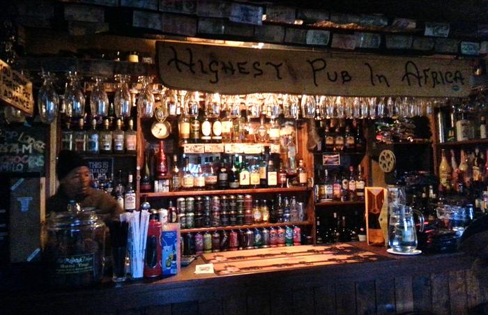 Highest pub in Africa by Lauren Morling