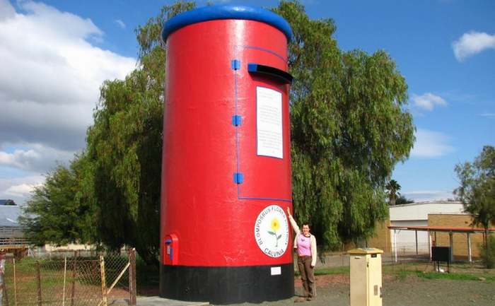 Giant post box in Calvinia by namibsands