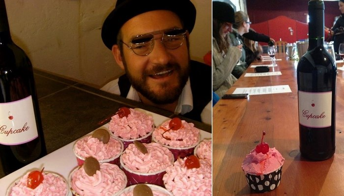 Cupcake and wine tasting with Lord Riaan
