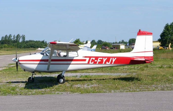 Cessna plan supplied by Wikipedia