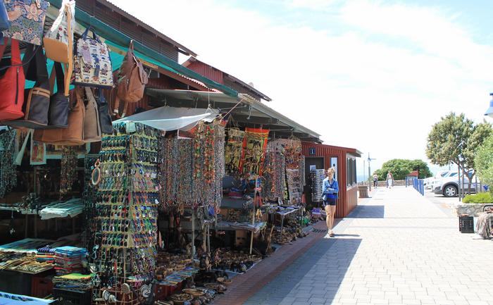 Craft market in Hermanus