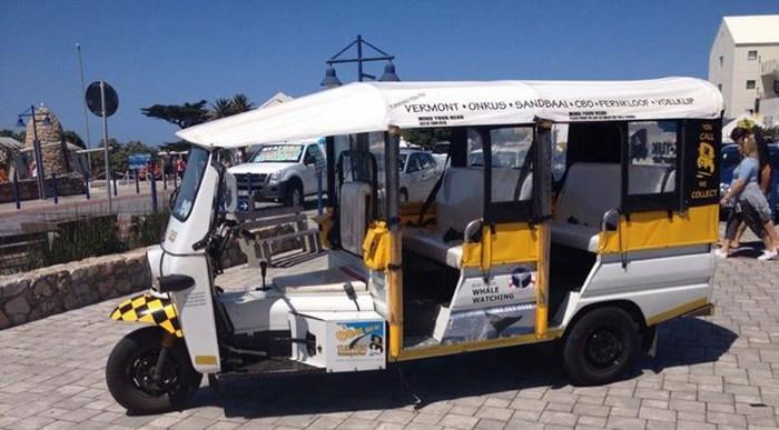 Tuk tuks supplied by Hermanus Taxi