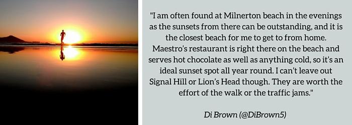 Di Brown: : Summer Sundowner Spot