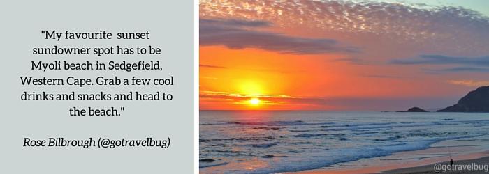 Rose Bilbrough: : Summer Sundowner Spot