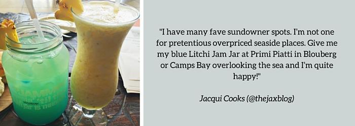 Jacqui Cooks: Summer Sundowner Spot