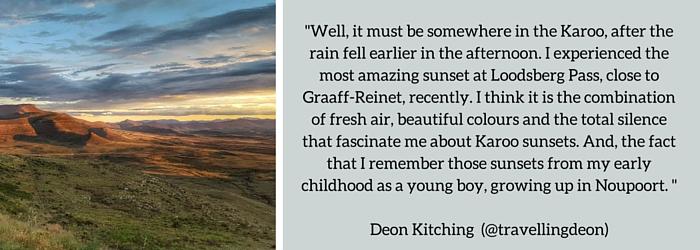 Deon Kitching: Summer Sunset Spot